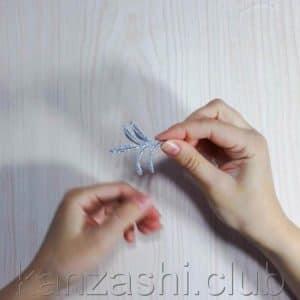 Веточка для снежинки анзаши