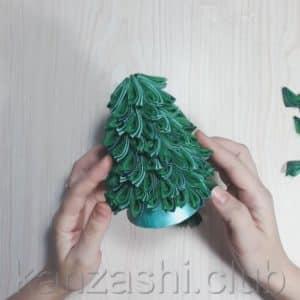 нижний ряд елки