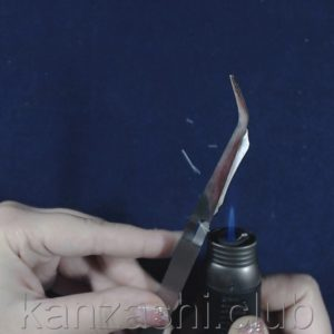 обрезаем ленту