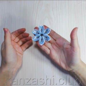 цветок для снежинки
